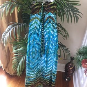 Dresses & Skirts - Tropical Maxi Dress
